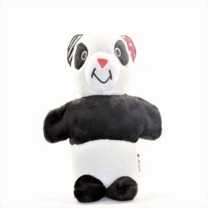 Juguete de estimulacion temprana panda titere para bebes de 3 a 12 meses