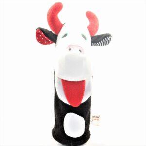 Juguete de estimulacion temprana la vaca titere para bebes de 3 a 12 meses