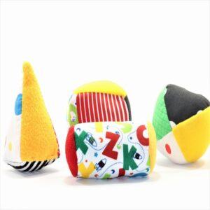 Juguete de estimulacion temprana juego geometrico para bebes de 4 a 7 meses
