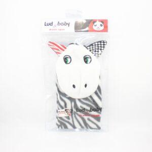 juguete de estimulacion temprana cebra titere para bebes de 3 a 12 meses con empaque.