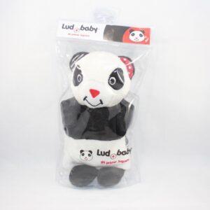 Juguete de estimulacion temprana panda titere para bebes de 3 a 12 meses con empaque.