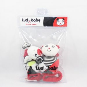 juguetes de estimulacion temprana combo pulsera con empaque para bebes de 4 6 meses